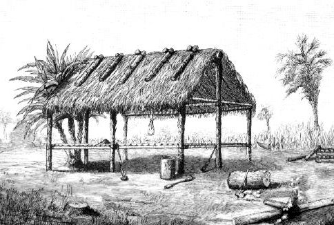 Seminole indian homes pictures